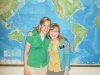 with Sister Tiffany Hayden (cousin)